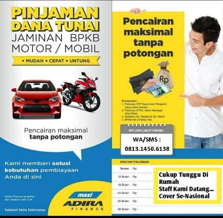 Adira Finance Pedurungan Semarang - 081314506138 - Gadai BPKB